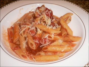 Recipe: Penne Filetto di Pomodoro - Sunday Sauce - Food Blog with ...